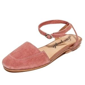Free people shoes flats rose pink